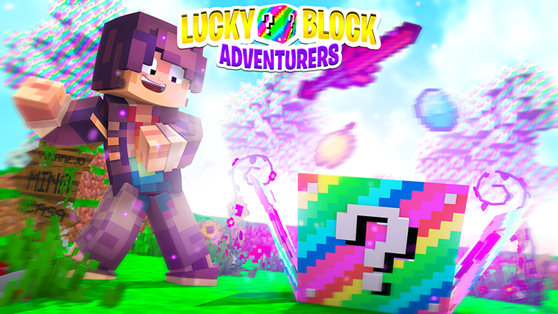 Lucky Block Adventurers on the Minecraft Marketplace by Kubo Studios