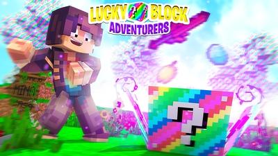 Lucky Block Adventurers on the Minecraft Marketplace by Kubo Studios