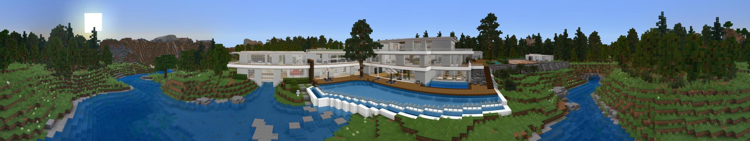 Modern Mansion in Minecraft Marketplace  Minecraft