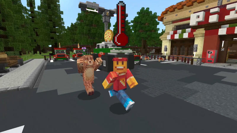 Pizza Delivery Simulator on the Minecraft Marketplace by 57Digital