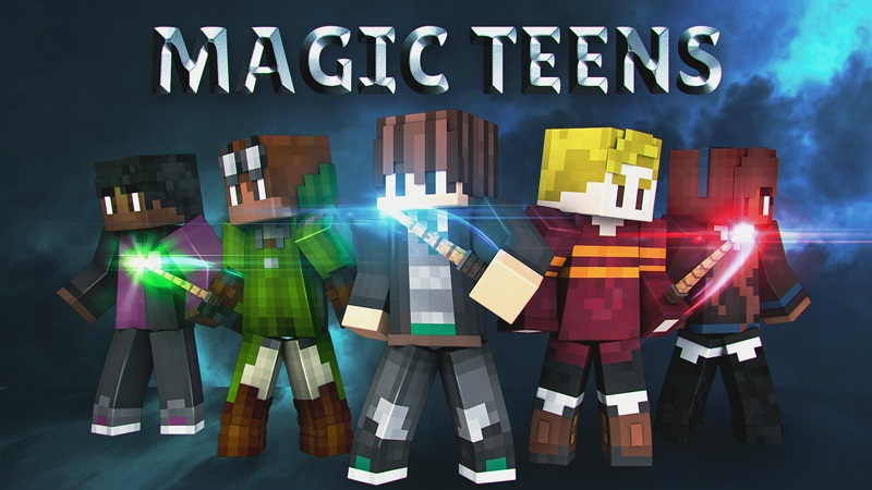 Magic Teens on the Minecraft Marketplace by Blockception