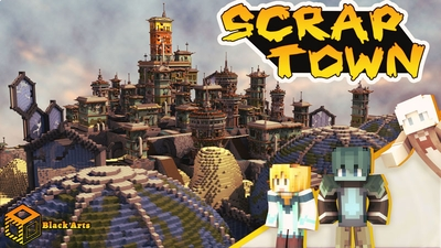 Scrap Town on the Minecraft Marketplace by Black Arts Studio