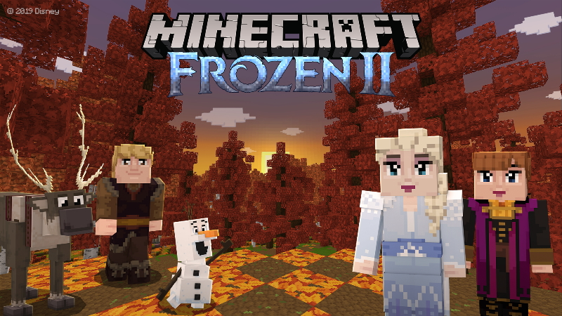 Frozen on the Minecraft Marketplace by Minecraft
