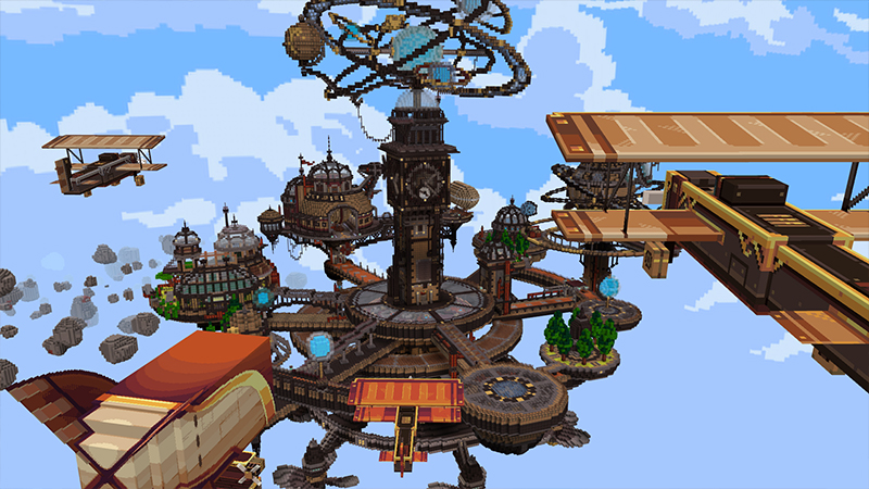Sky Sailor on the Minecraft Marketplace by Cyclone