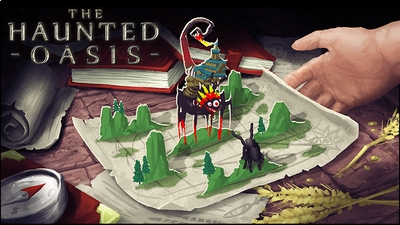 The Haunted Oasis on the Minecraft Marketplace by Glowfischdesigns
