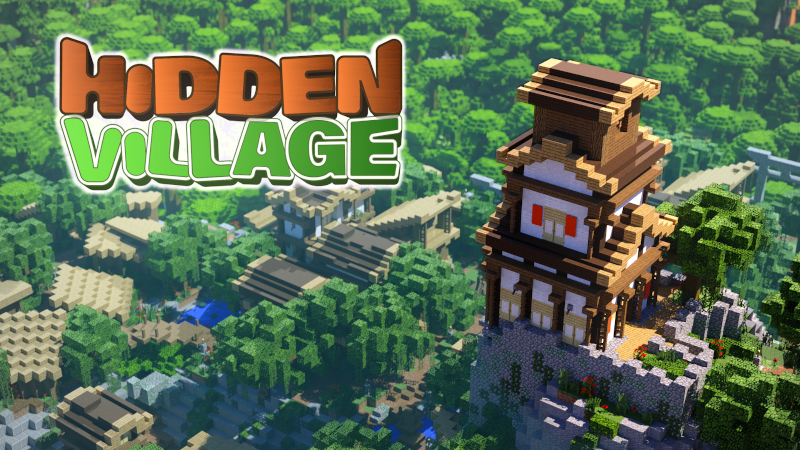 Hidden Village on the Minecraft Marketplace by BTWN Creations