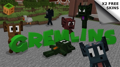 Gremlins on the Minecraft Marketplace by MobBlocks