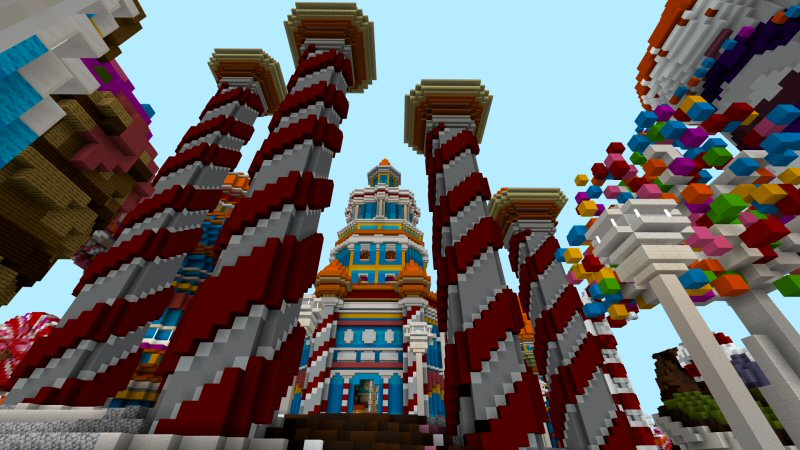 Candy Island on the Minecraft Marketplace by Shaliquinn's Schematics
