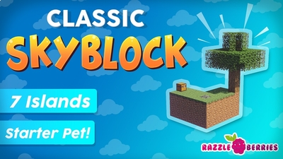 Classic Skyblock on the Minecraft Marketplace by Razzleberries