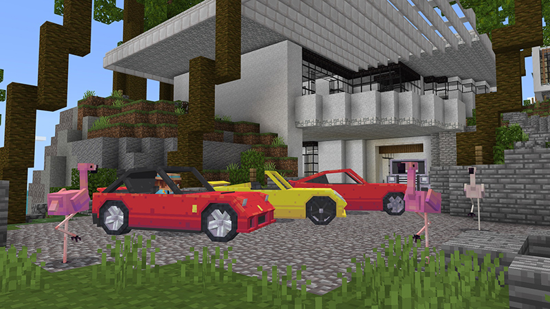 Modern Houses on the Minecraft Marketplace by BBB Studios