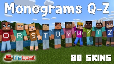 Monograms QZ on the Minecraft Marketplace by Lifeboat