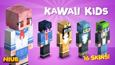 Kawaii Kids on the Minecraft Marketplace by The Hive