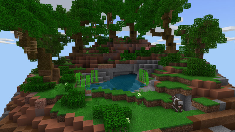 Sky Diamonds on the Minecraft Marketplace by Pixelusion