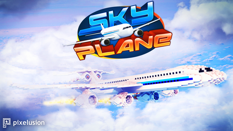 Skyplane on the Minecraft Marketplace by Pixelusion