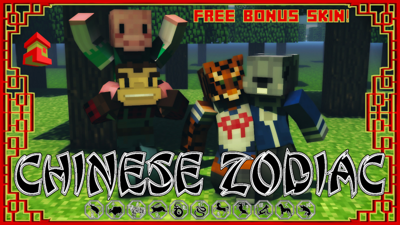Chinese Zodiac on the Minecraft Marketplace by Project Moonboot