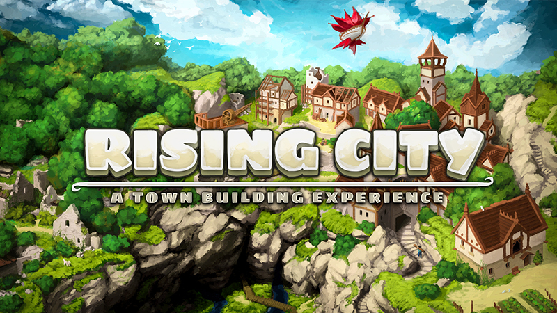 Rising City on the Minecraft Marketplace by Glowfischdesigns