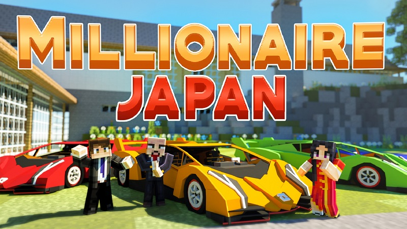 Millionaire Japan on the Minecraft Marketplace by BBB Studios
