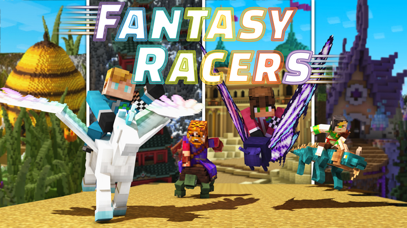 Fantasy Racers on the Minecraft Marketplace by Blockception