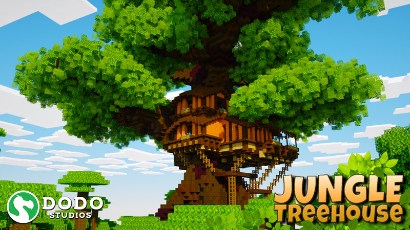 Jungle Treehouse on the Minecraft Marketplace by Dodo Studios