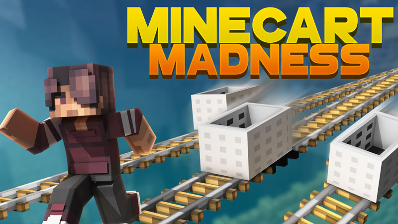 Minecart Madness on the Minecraft Marketplace by Podcrash