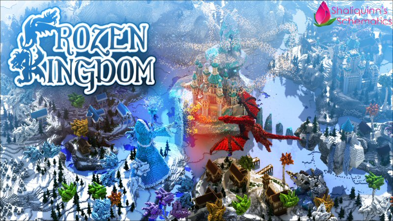 Frozen Kingdom on the Minecraft Marketplace by Shaliquinn's Schematics