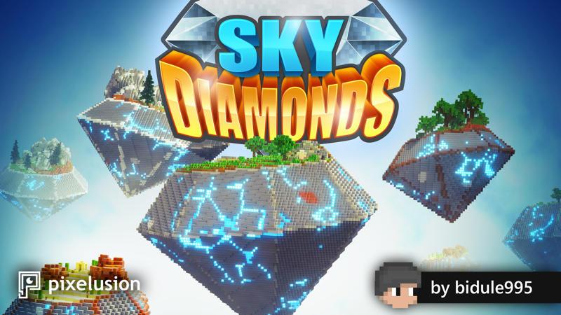 Sky Diamonds on the Minecraft Marketplace by Pixelusion