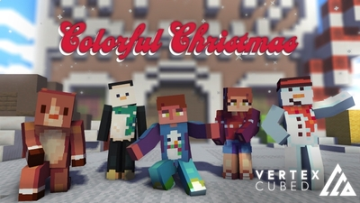 Colorful Christmas on the Minecraft Marketplace by Vertexcubed