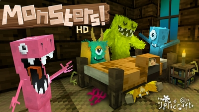 Jolicrafts Monsters HD on the Minecraft Marketplace by Jolicraft