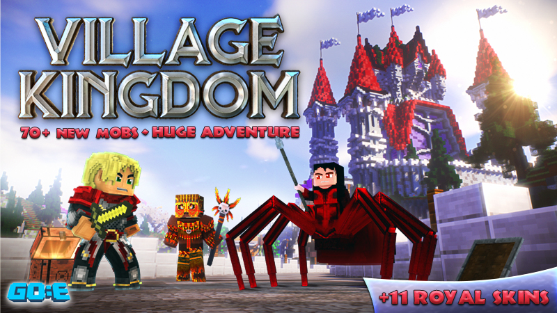 Village Kingdom on the Minecraft Marketplace by GoE-Craft