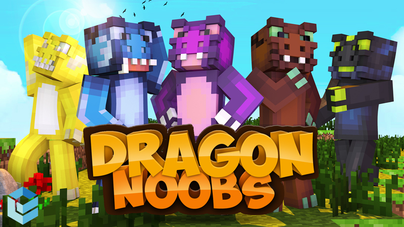 Dragon Noobs on the Minecraft Marketplace by Entity Builds