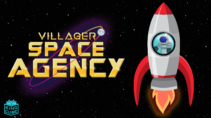 Villager Space Agency on the Minecraft Marketplace by King Cube