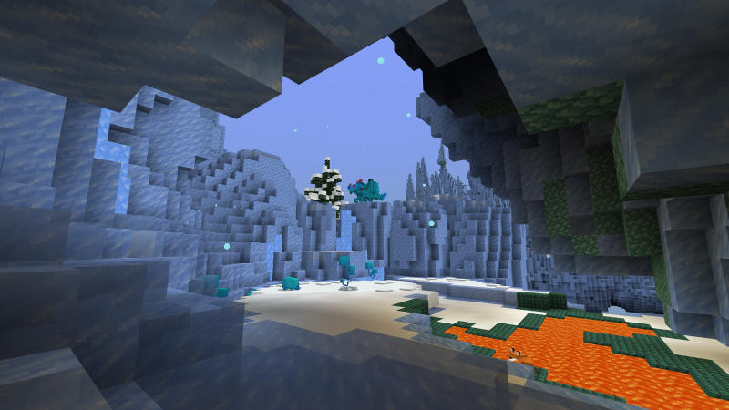 Ice World In Minecraft Marketplace Minecraft Ancient debris is the first thing you need to find on the journey to netherite and as explained above, you need to find it in the nether. ice world in minecraft marketplace