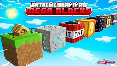 Extreme Survival Mega Blocks on the Minecraft Marketplace by Razzleberries