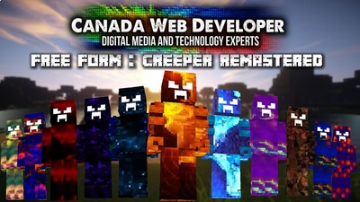 Free Form Creeper Remastered on the Minecraft Marketplace by CanadaWebDeveloper