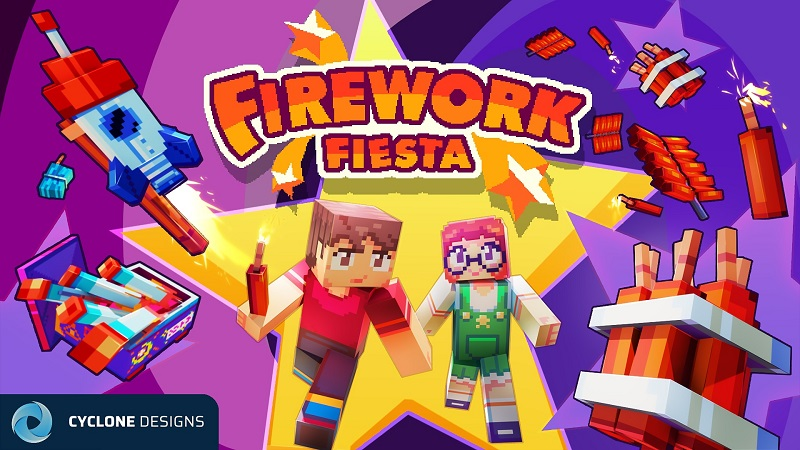 Firework Fiesta on the Minecraft Marketplace by Cyclone