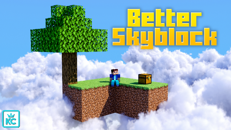 Better Skyblock on the Minecraft Marketplace by King Cube