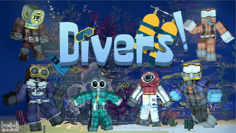Divers on the Minecraft Marketplace by LinsCraft