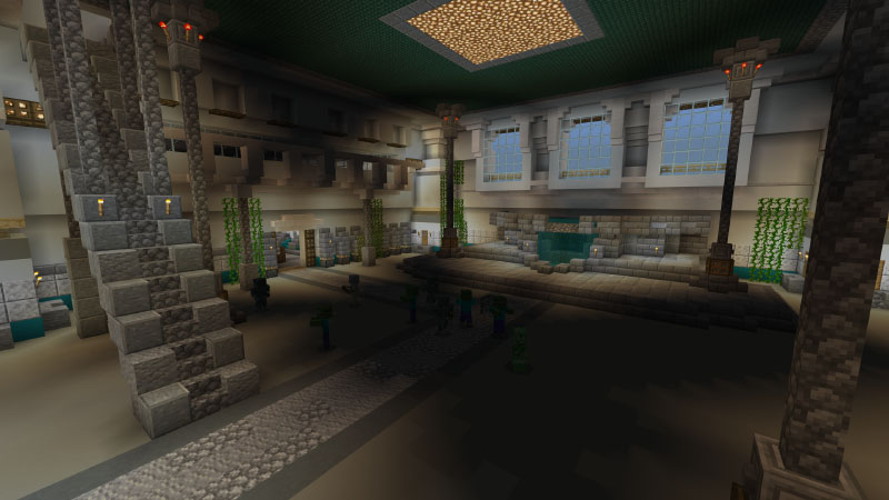 The Great Temple on the Minecraft Marketplace by Pixelusion