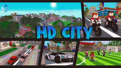 HD City on the Minecraft Marketplace by Entity Builds