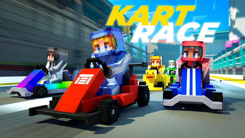 Kart Race on the Minecraft Marketplace by BLOCKLAB Studios