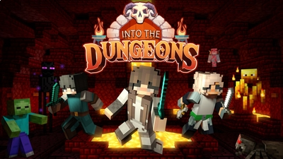 Into the Dungeons on the Minecraft Marketplace by Podcrash