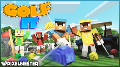 Golf it on the Minecraft Marketplace by Pixelbiester