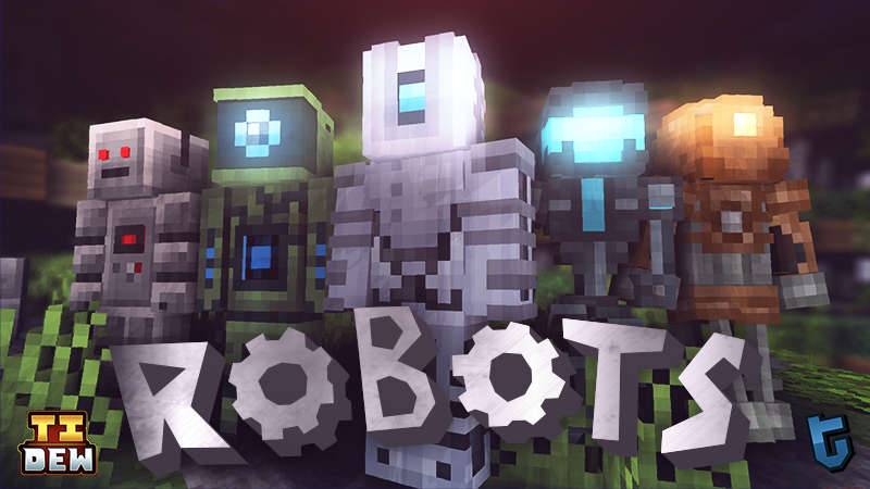 Robots on the Minecraft Marketplace by Tomaxed
