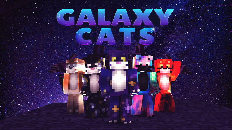 Galaxy Cats on the Minecraft Marketplace by Impulse