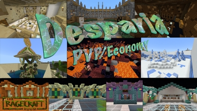 Desparia PVPEconomy on the Minecraft Marketplace by The Rage Craft Room