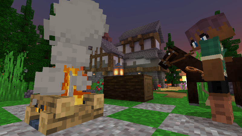 Heroes Mansion on the Minecraft Marketplace by King Cube