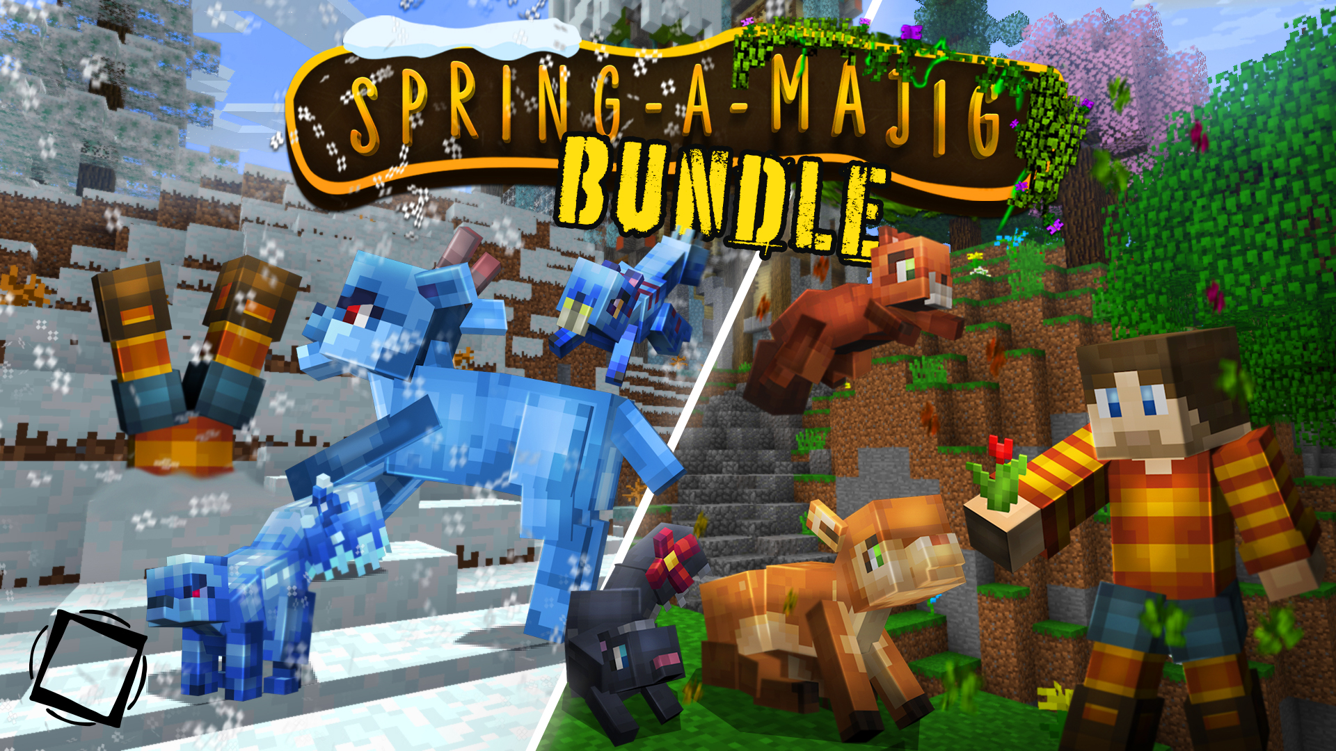 Springamajig Bundle on the Minecraft Marketplace by The Misfit Society