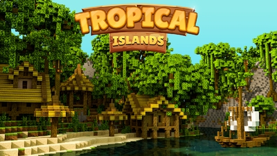 Tropical Islands on the Minecraft Marketplace by Impulse