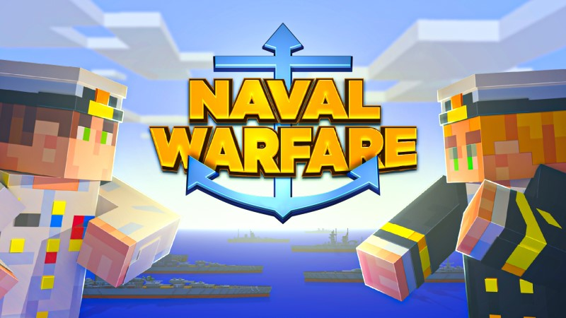 Naval Warfare on the Minecraft Marketplace by Shapescape