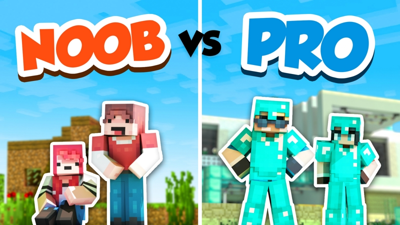 Noob vs Pro on the Minecraft Marketplace by InPvP